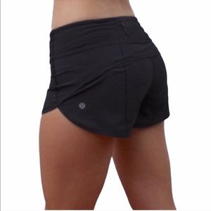 Lululemon Run Speed Shorts Black